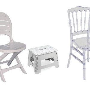 Chaise et tabouret