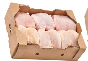 Dindes et poulets surgelés